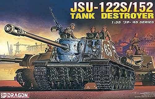 Platts 1 35 World War II Soviet JSU-122S   152 Tank Destroyer Plastic DR6047