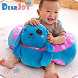 DearJoy Cotton Toddlers' Baby Sofa and Training Seat (Blue)
