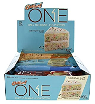 ONE Protein Bar Variety Pack 20g Protein 1g Sugar 12-Pack  packaging may vary