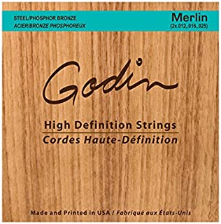 Seagull Merlin High-Definition Strings Steel/Phosphor Bronze Strings For Merlin