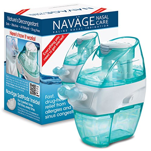 Navage Nasal Irrigation Starter Bundle:...