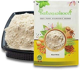 IndianJadiBooti Musli Safed Powder - White Musli Powder - Shwet Muslie Poeder - Chlorophytum Borivilianum, 3 verpakkingen ...