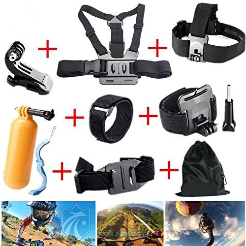 MeterMall 8-in-1 GoPro Accessoires Set Accessoires Kit voor GoPro Camera's