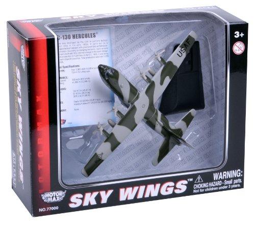 Richmond Toys 1: 200 schaal Sky Wings Modern Lockheed Martin C-130 Hercules vliegtuigen spuitgietmodel met authentieke details
