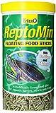 Tetra ReptoMin Bâtonnets flottants pour tortues aquatiques/filets/grenouilles, 10.59-Ounce