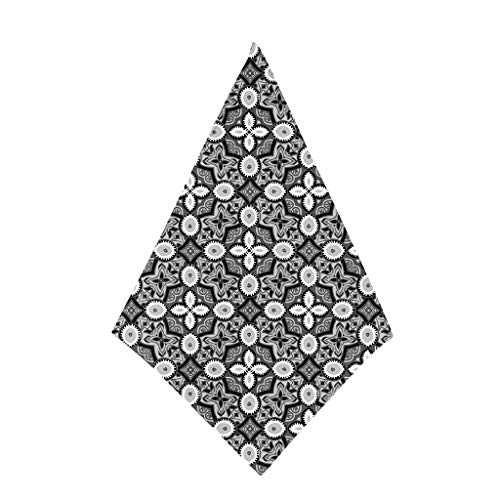 MOTOCO Bandana Halstuch Paisley Bindetuch Haar Schal Ansatz Handgelenk Verpackungs Band Kopftuch Unisex Mode-Accessoires(50X50CM.H)