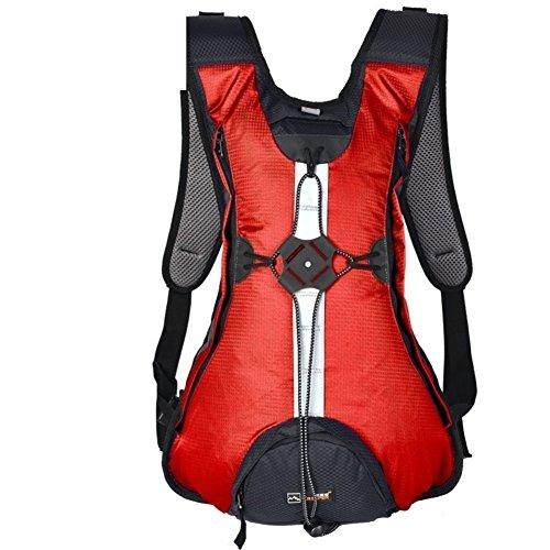 Backpack éclairage extérieur Sac à Dos/Sacoche de vélo/Package Sac/extérieur Sac de Sport/d'équitation – Rouge 20L