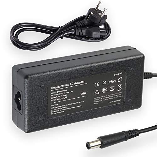 ATTNINE 19V 4,74A 90W Adaptador de Cargador de computadora portátil para HP Pavilion DV7 DV6 DV5 DV4 HP 2000-2B09WM 2000-2A20NR y más Cable de alimentación de 7,5 x 5,0 mm