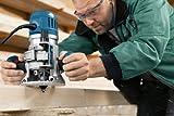 Bosch Professional Multifunktionsfräse GMF 1600 CE (inkl. vielseitigem Zubehör z.B. Spanschutz, Zentrierstift, Parallelanschlag, in L-BOXX) - 6