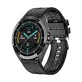 ZGLXZ El Nuevo GW16T Smartwatch Men Touch Full Touch Deporte Tasa del Corazón Monitor De Sueño Ejercicio Inteligente Ejercicio Cardíaco Dormitorio para iOS Android,A