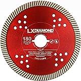LXDIAMOND, disco diamantato, diametro 180 mm, adatto per fresatrice Lamello Tanga DX200, fresatrice per finestra, disco diamantato 180 mm