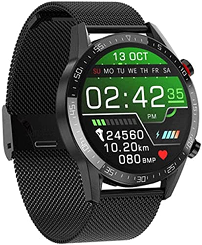 Reloj inteligente para hombre ECG + PPG ritmo cardíaco IP68 impermeable Bluetooth llamada smartwatch para Huawei Xiaomi Samsung IOS-A