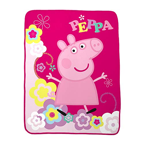 Lowest Prices! Entertainment One Pig Peppa's Picnic Micro Raschel Throw, 46 x 60
