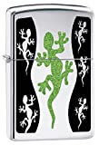Zippo Personalized Message Engraved Customized Gift for Him for Her Animals Part2 Lighter Indoor Outdoor Windproof Lighter (Lizard)
