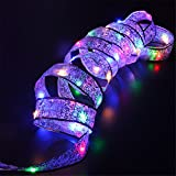 4m Christmas Party Decoration Ribbon Night Light Christmas Tree LED String