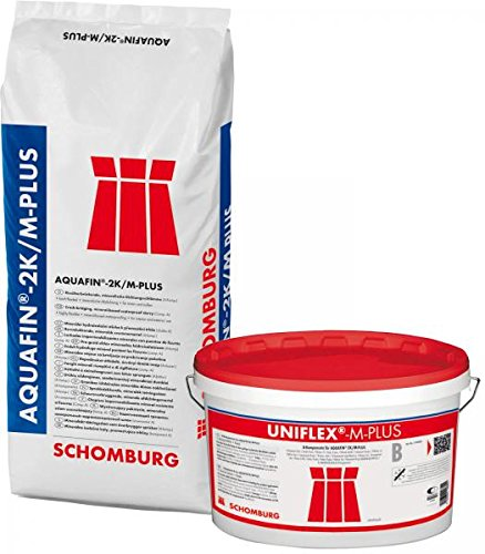 Schomburg Aquafin 2K/M-PLUS (7 kg), flexible mineralische Dichtschlämme