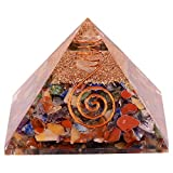 Natural Crystal Energy Generator Multistone Orgone Pyramid EMF Protection Healing Crystal