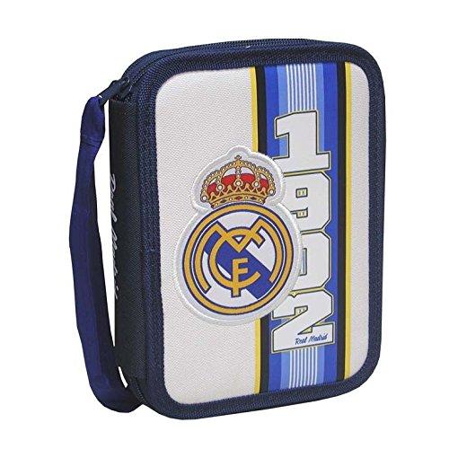 Real Madrid EP-261-RM - Estuche con 2 pisos: Amazon.es: Oficina y papelería