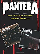 Pantera - Selections from Vulgar Display of Power and Cowboys from Hell (Authentic Guitar-Tab Editions)