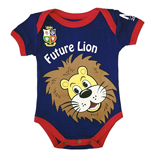 British y Irish Lions Rugby Body para bebé–Azul Marino | 2017Tour
