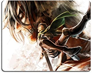 10 X Shingeki No Kyojin Attack On Titan Eren & Levi Anime Gaming Mouse Pad