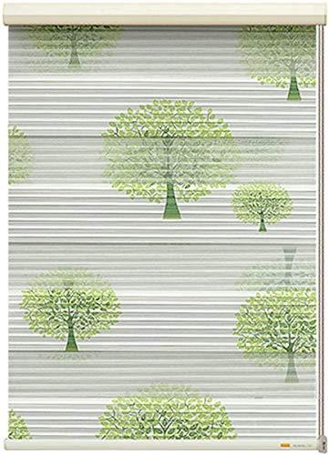 WGFGXQ Tag und Nacht Jalousien Horizontale Jalousien Jalousie Zebra Vertikal Jalousien Double Fabric Translucent oder Blackout Vision Vorhänge Translucent oder Blackout Vision Vorhänge für Fenster
