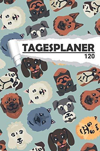 Tagesplaner Hunde Schäferhund: Eleganter Terminplaner I DIN A5 I 120 Seiten I Tageskalender I Organizer für Schüle, Uni und Büro (Abstrakte Tagesplaner, Band 1)