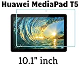 M.G.R.J® Tempered Glass Screen Protector for Huawei MediaPad T5 Tablet (10.1' inch)