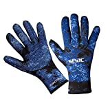 SEAC Anatomic Gloves, Guanti da Sub in Neoprene da 3.5 mm per Pesca Subacquea in Apnea Unisex...
