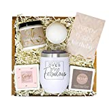 PERFECT GIFT BOX IDEA FOR A WOMAN'S BIRTHDAY! A great present of relaxation for your wife, mother, grandmother, sister, daughter-in-law, best friend, coworker or girlfriend. This curated gift box is sure to make that special lady in your life feel ch...
