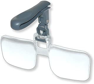 Carson Optical VisorMag Clip-On Magnifying Lens for Hats