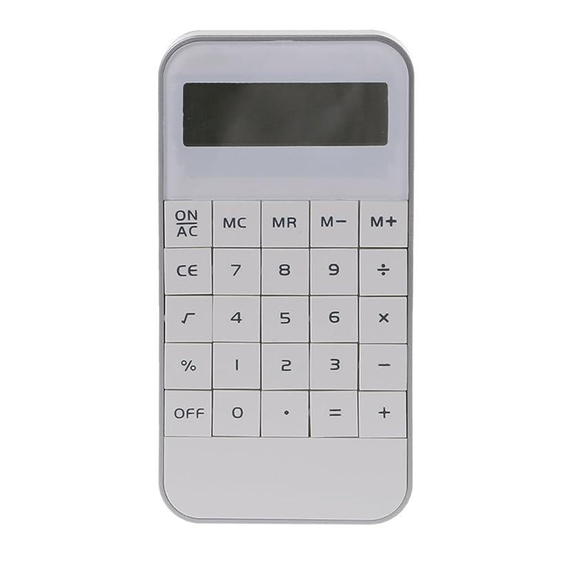 アストロラーベミュージカルペッカディロYuly NewPortableホーム電卓ポケット電子計算Office schoolcalculatorホット ホワイト