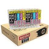 Matsuro Original   Compatible Cartuchos de Tinta Reemplazo para Canon PGI-520 CLI-521 520 521 (2 Sets)