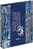 Carpeta 4 Anillas Tandem Waves | Archivador 4 Anillas A4 Escolar, Carpeta Clasificadora Anillas Juvenil con Tapa Dura de Cartón de Gran Calidad - Medidas 26,5 x 34,5 x 5 cm