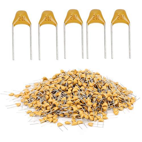 Condensador de cerámica, kit de condensador electrónico, para instrumentos electrónicos de precisión,