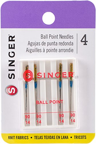 Singer Notions Agujas universales para máquina de Punta de Bola, no aplicable, Multicolor, 0.4 x 6.95 x 14.02 cm