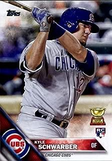 2016 Topps Variation #66 Kyle Schwarber Chicago Cubs Baseball Rookie Card