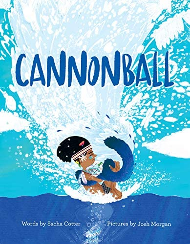Cannonball A Fun Summertime Read About Believing In Yourself and Having Fun Diverse Children product image