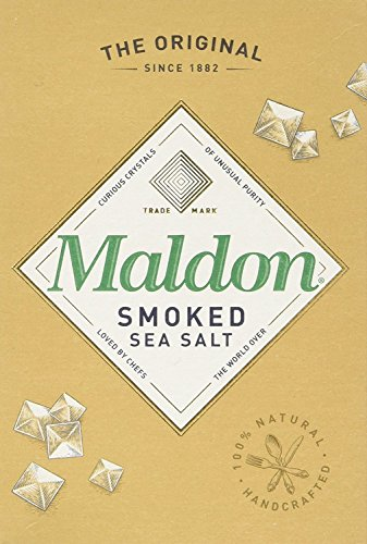 Maldon Smoked Sea Salt, Flaky Crystals, 4.4-Ounce Boxes (Pack of 4)