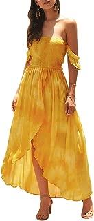 Best yellow flowing maxi dress Reviews