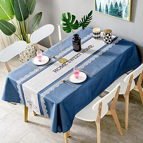 Creek Ywh tafelkleden voor terrasplanken, tafelkleden voor feestjes in Scandinavische stijl, eettafel, stof, grijs