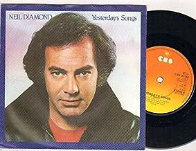 Neil Diamond - Yesterday's Songs - 7 inch vinyl / 45