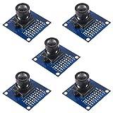 AITRIP 5pcs OV7670 640x480 0.3Mega 300KP VGA CMOS Camera Module I2C for Arduino ARM FPGA