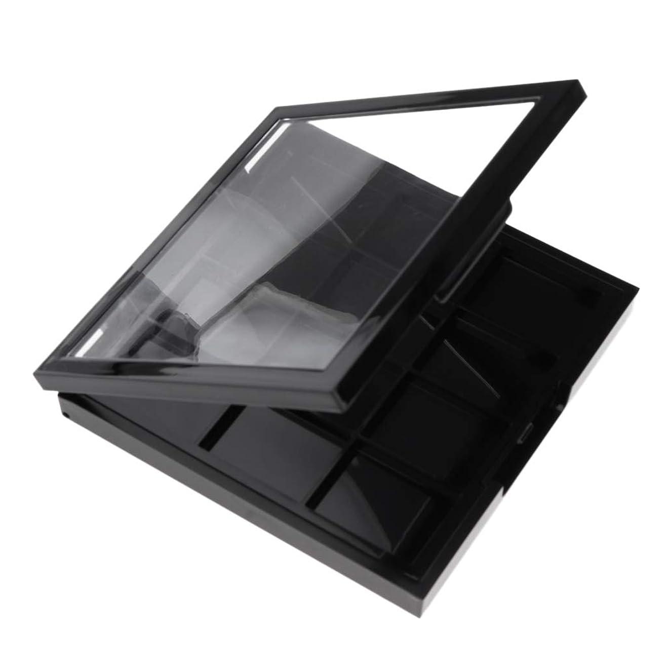 とらえどころのない順応性レトルトSM SunniMix 12グリッド アイシャドウパレット コスメパレット 収納ボックス 収納ケース アイシャドウケース
