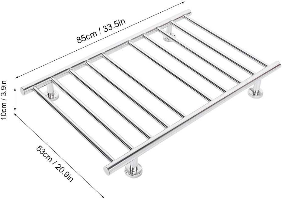 toallero para cuarto de ba/ño secador el/éctrico Secador de toallas de pared Estink acero inoxidable 201 bajo consumo 100 W EU 220 V