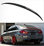 Cuztom Tuning Fits for 2011-16 BMW F10 5 Series 535i 528i Carbon Fiber M5 OE Style Trunk Spoiler Wing
