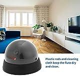 Cámara de cúpula de Seguridad CCTV de Seguridad con vigilancia LED para Interiores con luz LED Guardia de Seguridad IP-1800 - Negro