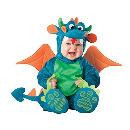 PerGrate - Disfraz de Halloween para bebé, diseño de animales, 18, 80