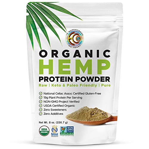 Earth Circle Organics Hemp Protein Powder
