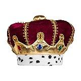 Boland 36103 – Sombrero infantil Majestad, multicolor, corona para niños, Rey Duquín, sombrero de peluche, carnaval, fiesta temática, Halloween